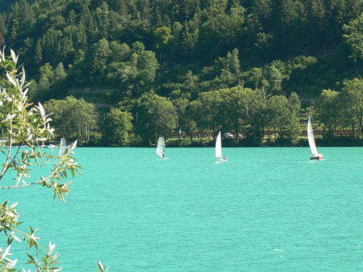 Voiles sur le lac de Nantua