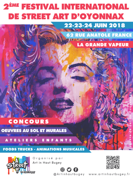 Festival International de street Art in Haut-Bugey